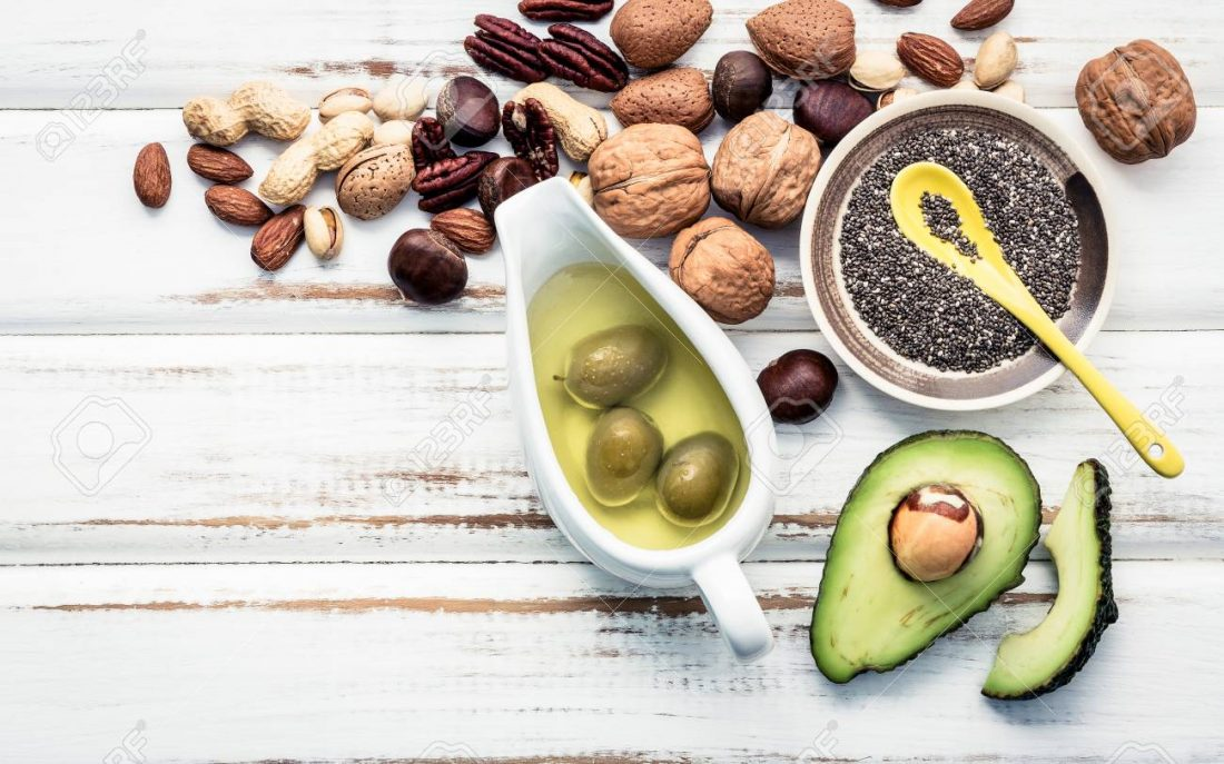 Healthy Superfood with vitamins and fiber