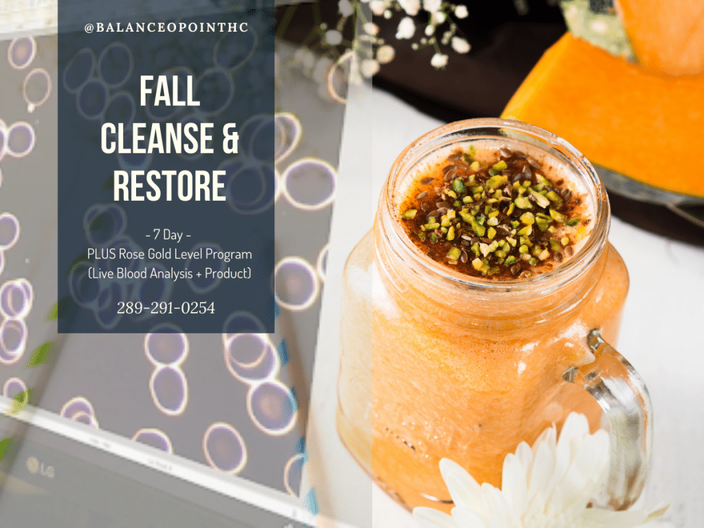 Rose Gold Fall Cleanse and Restore